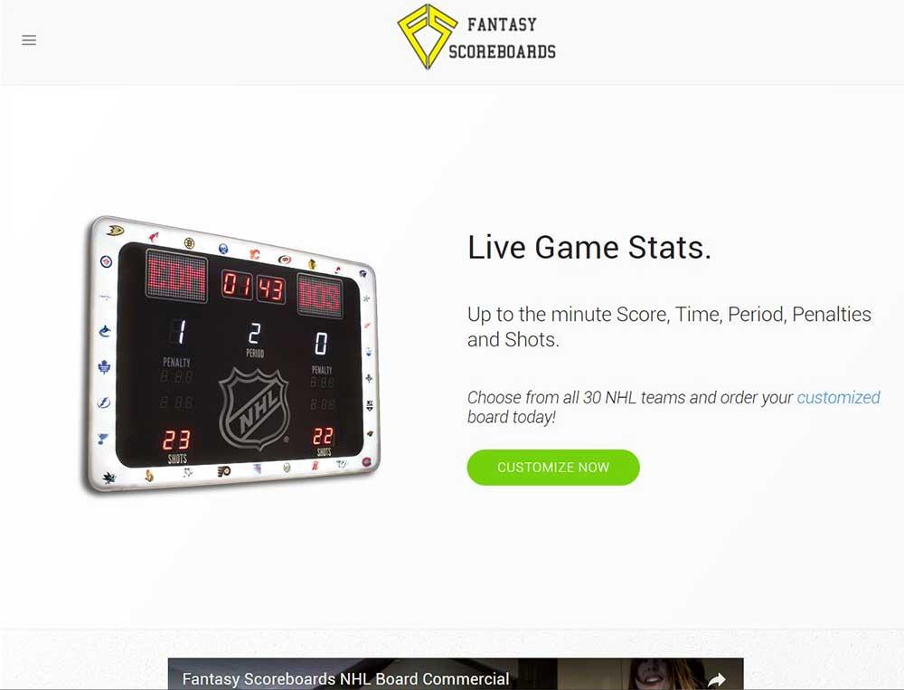 Fantasy Scoreboards